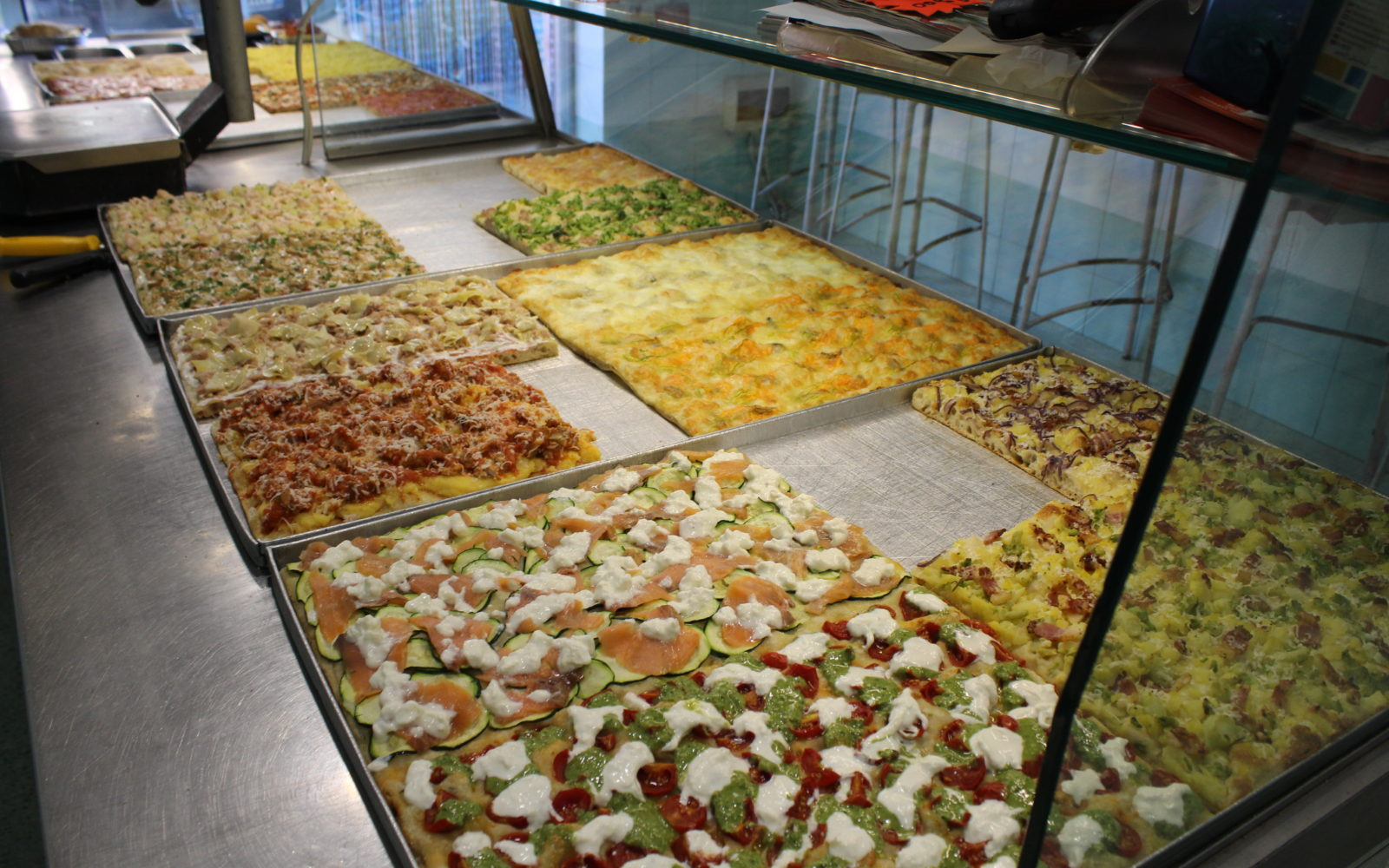 Pizza celestiale solo per gli umani